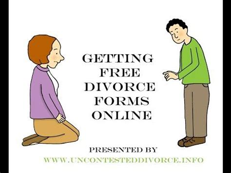 Can you write your own divorce papers